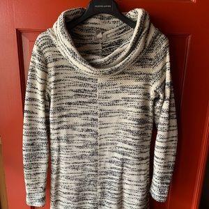 LOFT Sweater Dress Slouchy Neck